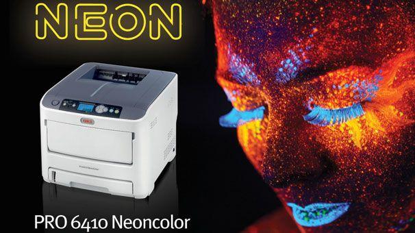 Цветной принтер OKI Pro6410 NeonColor