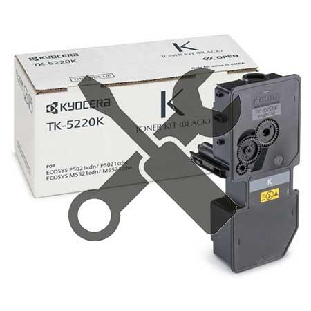 Заправка черного картриджа Kyocera TK-5240K для Ecosys M5526  M5526CDN  M5526CDW  P5026  P5026CDN  P5026CDW с заменой чипа