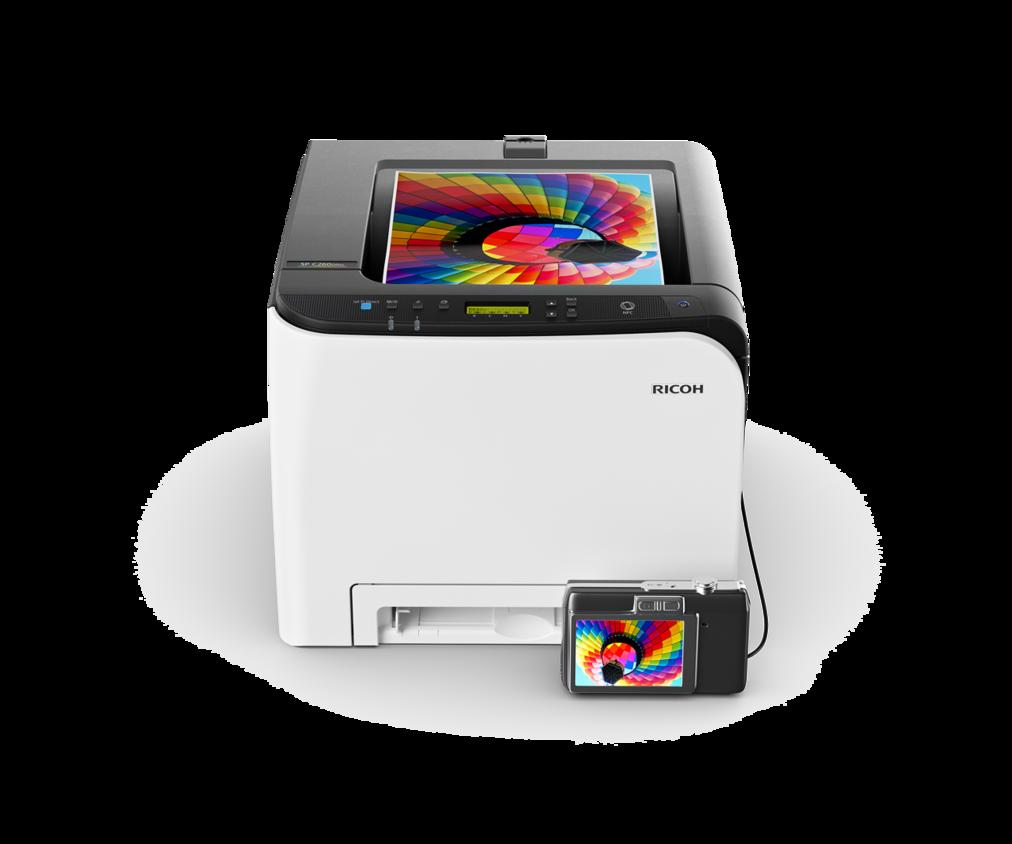 Принтеры Ricoh A4 цветные Ricoh Цветной лазерный принтер Ricoh  SP C260DNw