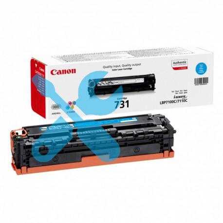 Заправка синего картриджа Canon 731 для i-SENSYS LBP7100Cn / LBP7110Cw с заменой чипа