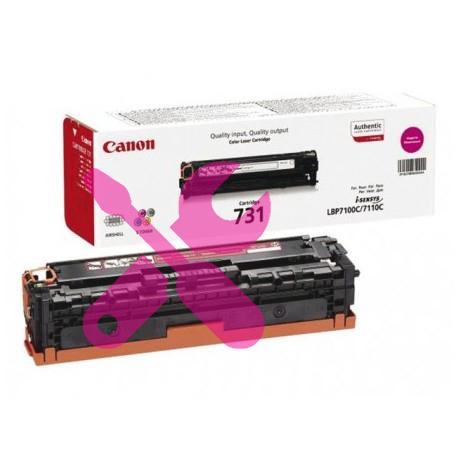 Заправка красного картриджа Canon 731 для i-SENSYS LBP7100Cn / LBP7110Cw с заменой чипа