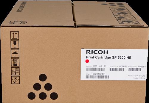 Тонер-картридж тип Ricoh SP 5200HE ( 25000стр) для Ricoh SP5200S / Ricoh SP5210SF / Ricoh SP5210SR / Ricoh SP5200DN / Ricoh SP5210DN