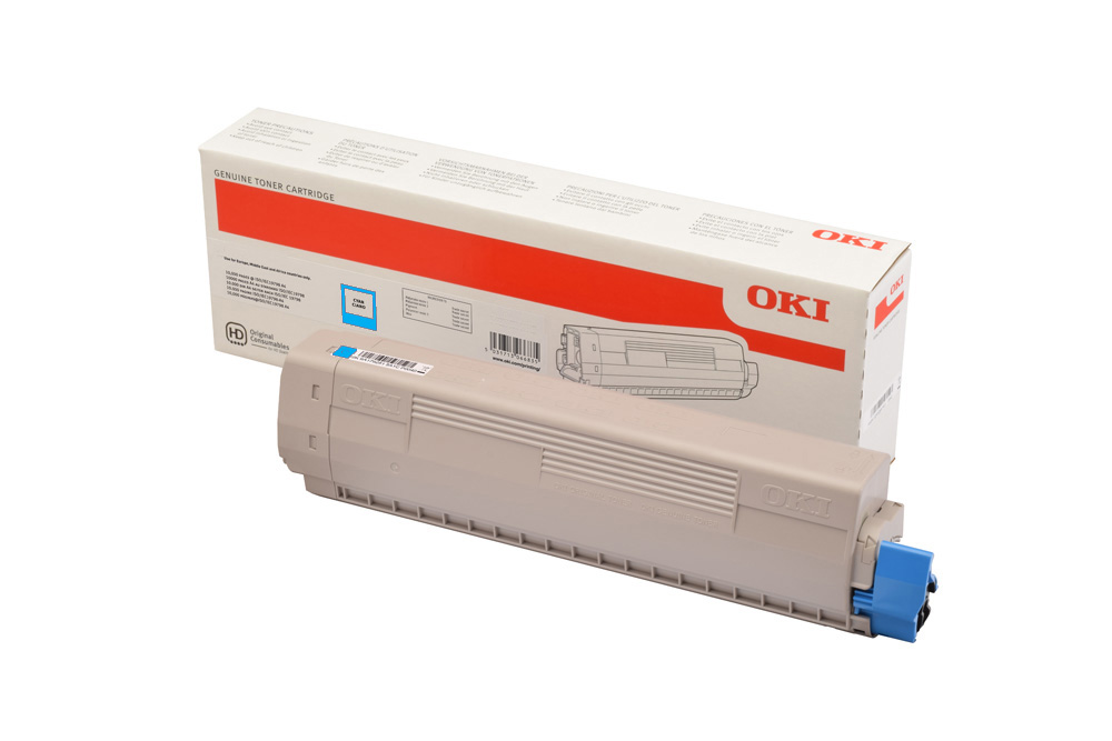 Тонер-картридж OKI Toner-C-C824 / C834 / C844 (cyan), 5000 страниц