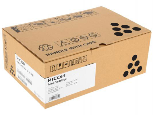 Принт-картридж черный, тип  Ricoh SPC252E ( 4500стр) для Ricoh SPC252DN / C252SF