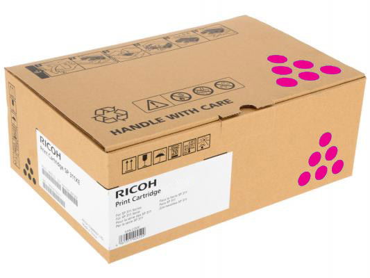 Принт-картридж высокой емкости, малиновый, тип Ricoh SPC252HE ( 6000стр) для Ricoh SPC252DN / C252SF