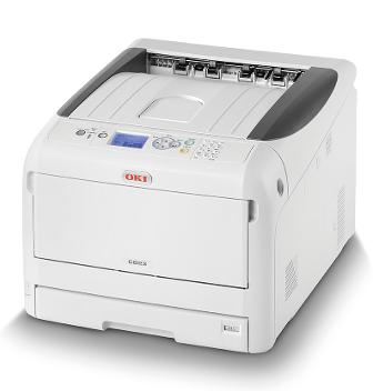 Цветные принтеры  А3 OKI Принтер OKI C823dn-EURO