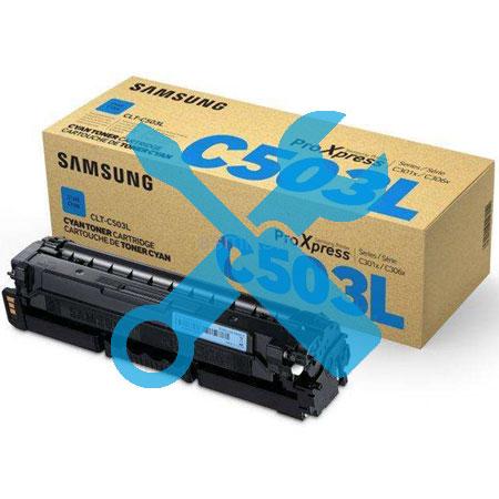 Заправка синего картриджа CLT-C503L для Samsung ProXpress C3010 / C3010ND / C3060 / C3060FR / C3060ND с заменой чипа