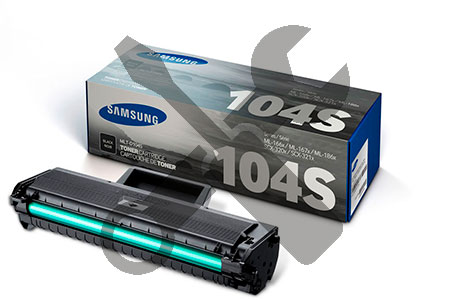 Заправка картриджа MLT-D104S для Samsung ML-1660 / 1665 / 1667 / 1670 / 1671 / 1675 / 1676 / 1677 / 1860 / 1865 / 1867 / SCX-3200 / 3205 / 3207 с заменой чипа