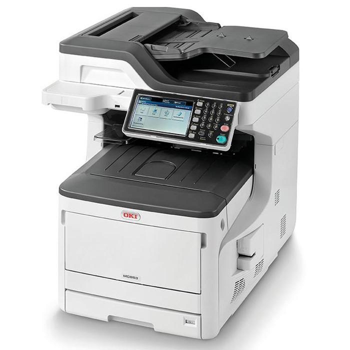 Цветные МФУ А3 OKI Многофункциональное устройство  OKI MC873dn-Euro