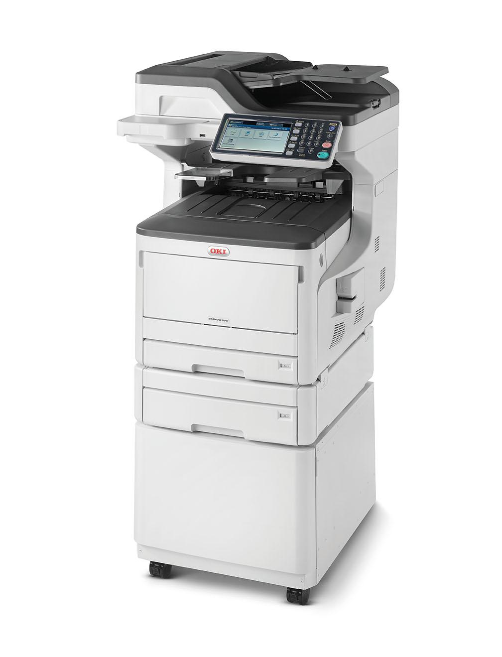 Многофункциональное устройство  OKI MC853dnct-Euro