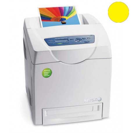 Заправка желтого картриджа Xerox Phaser 6280 с заменой чипа