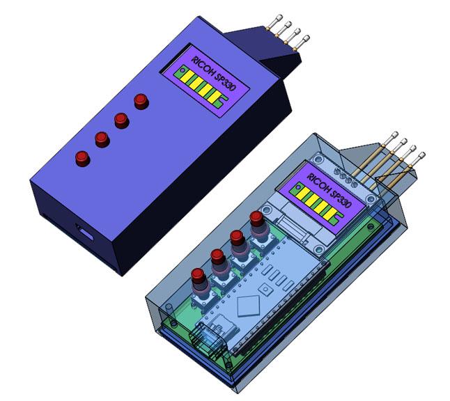 Автономный программатор для картриджей Ricoh SP330L (408278)