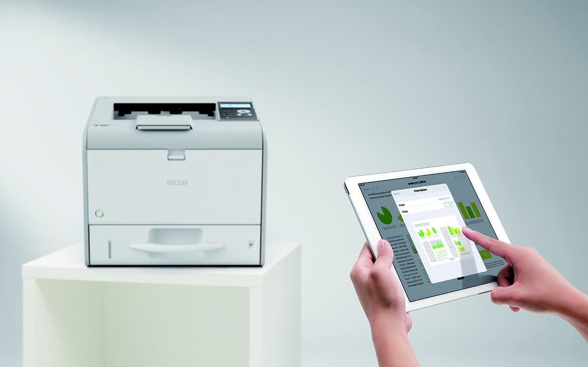 Светодиодный принтер Ricoh SP 450DN