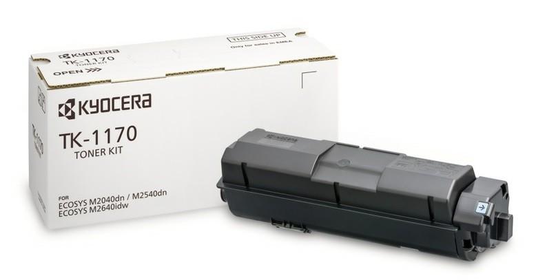 Заправка картриджа TK-1170 для Kyocera ECOSYS M2040dn / M2540dn / M2640idw / P2040 / P2540