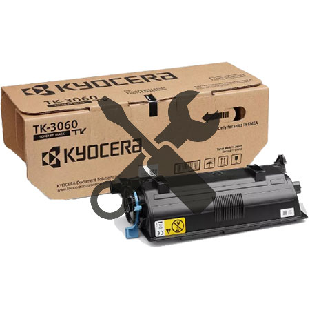 Заправка картриджа  Kyocera TK-3060 для ECOSYS M3145idn / M3645idn с заменой чипа