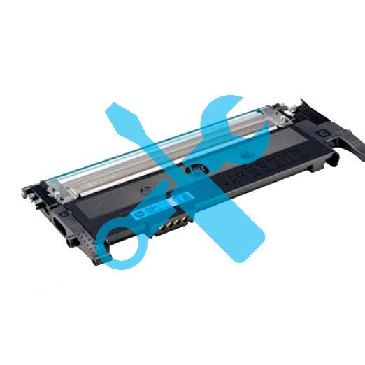 Заправка синего картриджа HP W2071A №117A