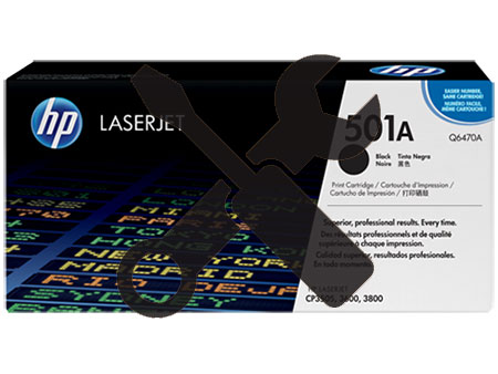 Заправка картриджа Q6470A для HP Color Laser Jet 3600 / 3800 / CP3505