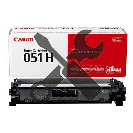 Заправка картриджа увеличенного объема Canon 051H для  LBP162  / MF264 / MF267 / MF269