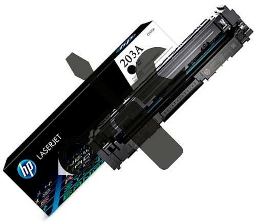 Заправка черного картриджа HP CF540A (203A) для  HP M254, MFP M280 / M281 с заменой чипа