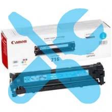 Заправка картриджа Canon 716 синий для i-SENSYS LBP5050 / MF8030Cn / MF8050Cn / MF8040Cn / MF8080Cw с заменой чипа