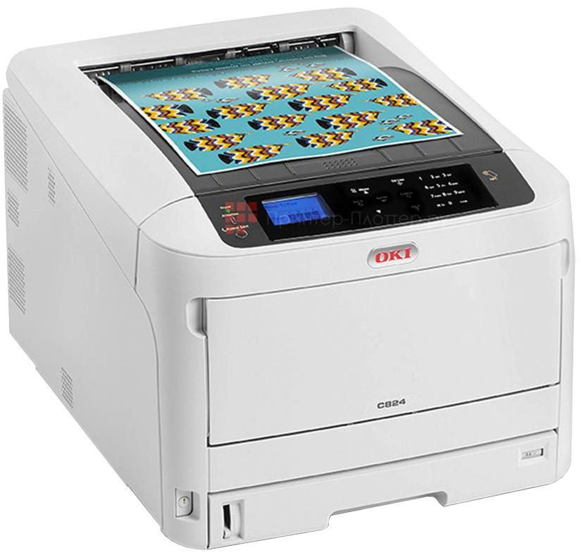 Принтер OKI  C824n цветной формат А3