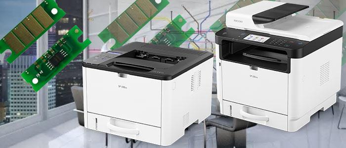 Заправка картриджа для Ricoh SP 330DN / 3710DN / SP 330SN / 330SFN /3710SF с заменой чипа на 3.5к