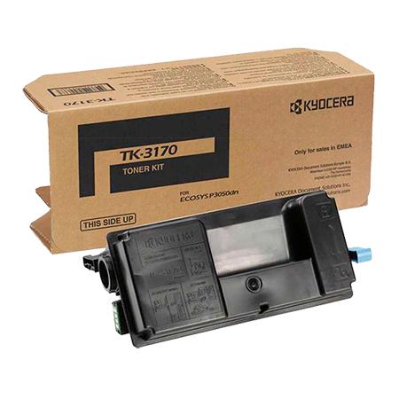 Заправка картриджа Kyocera TK-3170 для P3050dn / P3055dn / P3060dn с заменой чипа