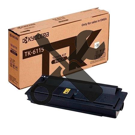 Заправка картриджа Kyocera TK-6115 для   ECOSYS M4125idn / M4132idn с заменой чипа