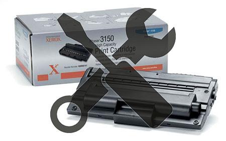 Заправка картриджа XEROX Phaser 3150 (109R00747) с заменой чипа