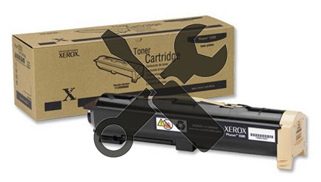 Заправка картриджа XEROX Phaser 5500 Toner Cartr (30K) с заменой чипа