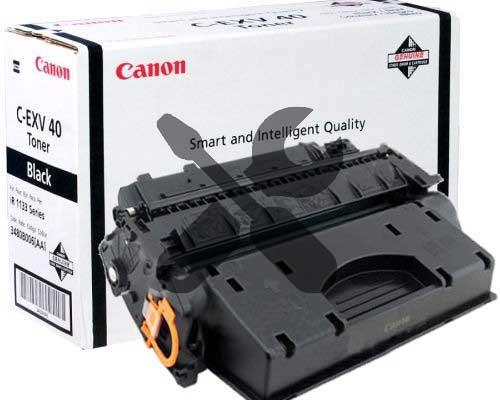 Заправка картриджа Canon C-EXV40 для Canon iR-1133 / Canon iR-1133A / Canon iR-1133iF с заменой чипа