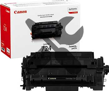 Заправка картриджа Canon 724 для  i-SENSYS LBP6750dn с заменой чипа