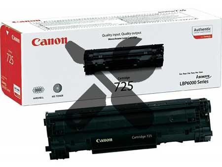 Заправка картриджа Canon 725 для MF-3010 с заменой чипа