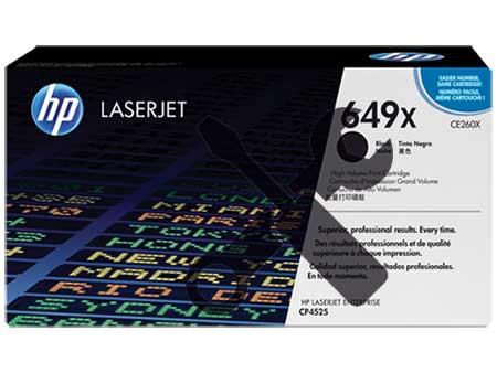 Заправка картриджа CE260X черный ( 649A ) для HP Color LaserJet CP4025 / CP4525 / CP4020 / CM4540