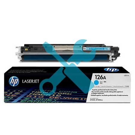 Заправка картриджа CE311A (126) синий для HP Color LaserJet CP1025n/nw / LaserJet Pro CP1025 / Pro 100 M175nw / Pro M275 с заменой чипа