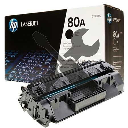 Заправка картриджа HP 80A CF280A для HP LaserJet Pro 400 M401DN / Pro 400 MFP M425dn с заменой чипа