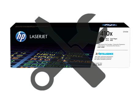Заправка картриджа CF410A для HP Color LaserJet M452DN / M477 / M377 с заменой чипа