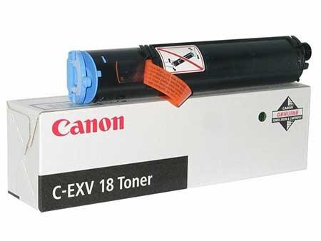 Картриджи Canon Canon Тонер черный оригинал (8,4К) [C-EXV 18] для Canon IR-1018