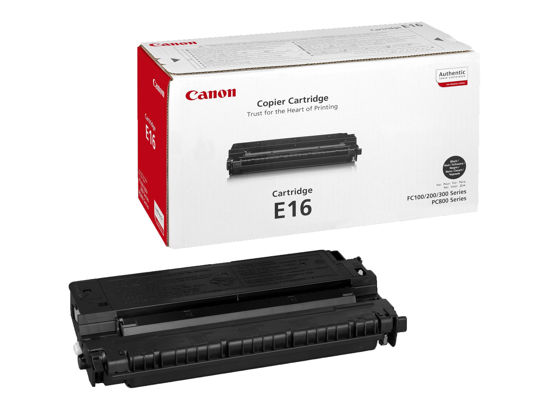 Картриджи Canon Canon Картридж E-16 для Canon FC-100 /108 /120 /128 /200 /210/ 220/ 230/ 330/ 336/ 530, PC740/ 750/ 760/ 770/ 781 (2K)