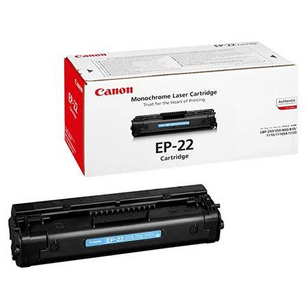 Картриджи Canon Canon Картридж черный оригинал (2,2К) [EP-22] для Canon Сanon 800 / 810 / LBP-1120