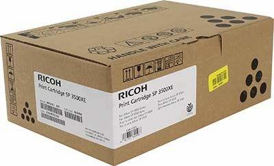 Принт-картридж тип Ricoh SP 3500XE ( 6400стр) для Ricoh SP3500N / Ricoh SP3510DN / Ricoh SP3500SF / Ricoh SP3510SF