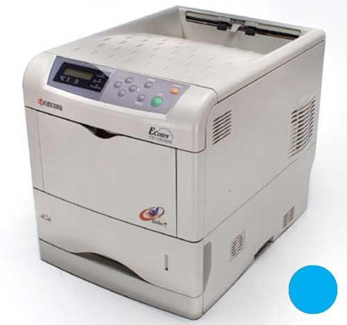 Заправка синего картриджа Kyocera TK-510C для FS-C5020N/FS-C5025N/FS-C5030N с заменой чипа