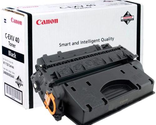 Картриджи Canon Canon Тонер черный оригинал (6К) [C-EXV 40 ] для Canon iR 1133 / 1133A / 1133iF