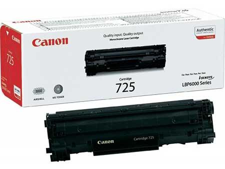 Картриджи Canon Canon Тонер-картридж 725 для Canon LBP 6000 /6020/MF 3010 (1600 стр.)