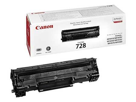 Картриджи Canon Canon Картридж черный оригинал (2,1К) [728] для Canon MF4410 / 4430 / 4450 / 4550dn / 4570dn
