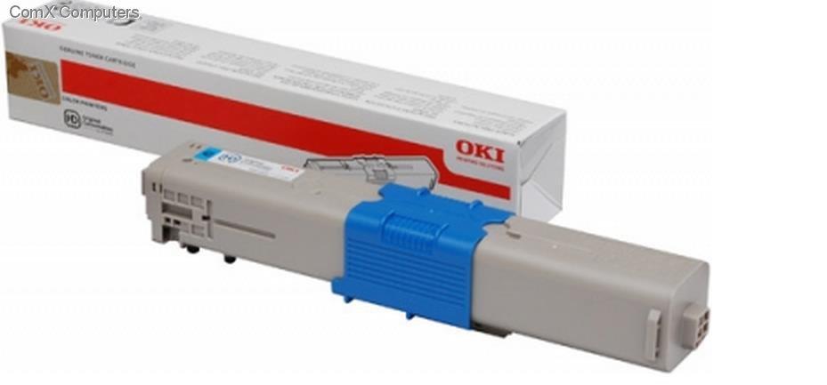 Тонер картридж для OKI C301 C321 MC332 MC342 голубой
