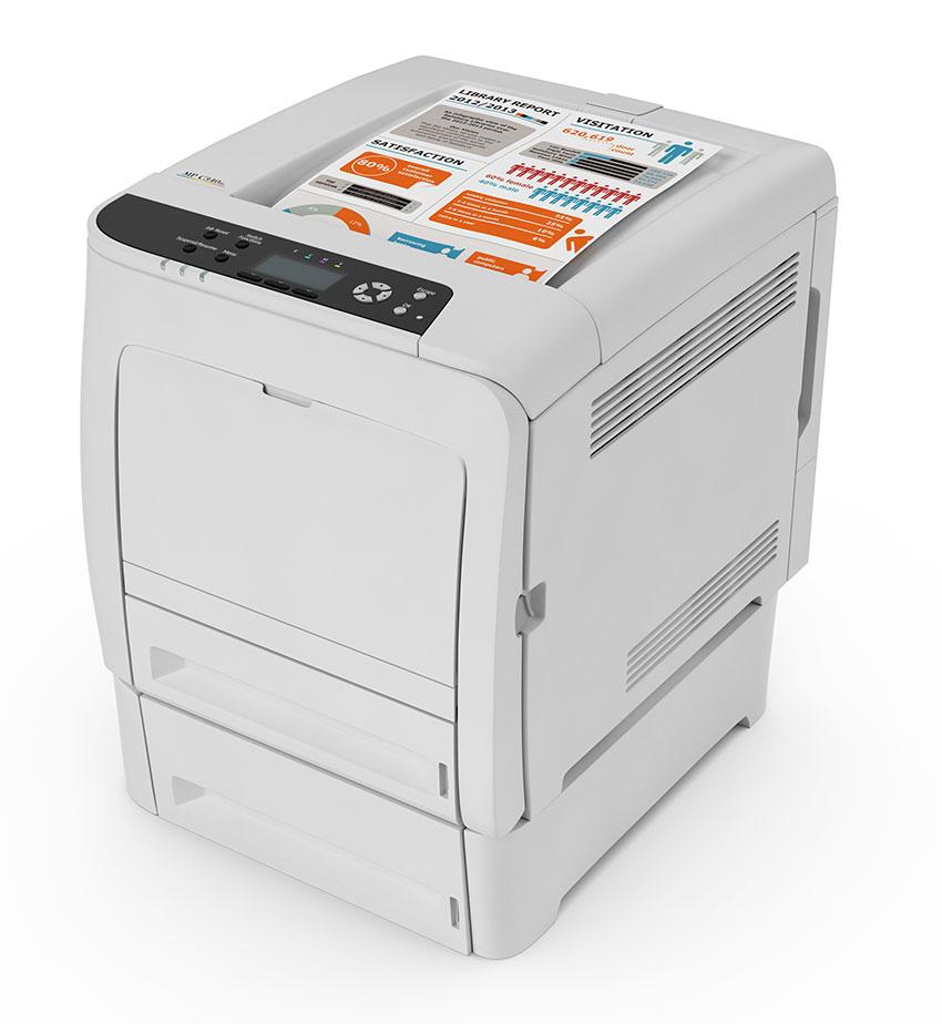 Цветной лазерный принтер Ricoh SP C340DN