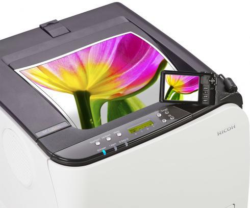 Цветной лазерный принтер Ricoh SP C250DN