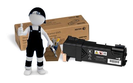 Заправка картриджа  для Xerox Phaser 6500 / WC 6505 черный