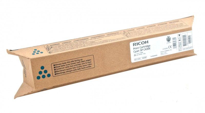Картриджи Canon Ricoh Тонер-картридж тип Ricoh SP C430E голубой ( 24000стр) для Ricoh SPC430DN / Ricoh SPC431DN / Ricoh SPC440DN